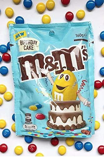 Enjoyable Mms Birthday Cake Flavour 160G Australian Chocolate Candy Lollie Funny Birthday Cards Online Hendilapandamsfinfo