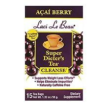 Laci Le Beau Super Dieter's Tea Cleanse by Natrol - 15 tea bags, Acai Berry