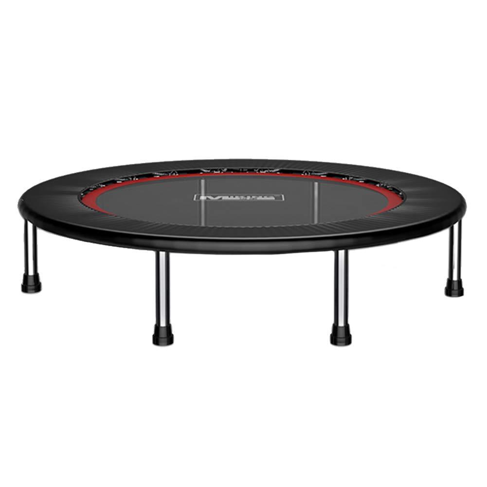 Trampolin, Folding Gym Trampoline Mini Bouncer Rebounder für Erwachsene/Kinder, 50 Zoll / 127cm - Max Load 250KG