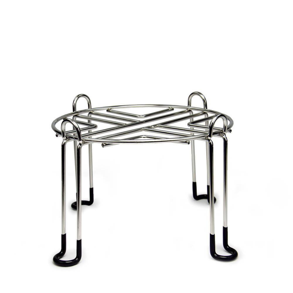 Berkey Stainless Steel Wire Stand with Rubberized Non-skid Feet for the Imperial and Crown Berkeys and Other Extra-large Sized Gravity Fed Water Filters by Berkey