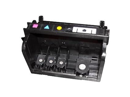 HP CN643A cabeza de impresora - Cabezal de impresora (Officejet 6500 E709a, 6500 Wireless E709n, 7000, Inyección de tinta, Negro, Cian, Magenta, ...