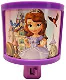 Disney's Sofia The First On/Off Manual Night Light - Perfect for Any Room in The House! (Single)
