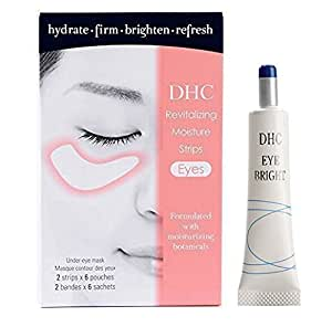 DHC Revive Tired Eyes, includes DHC Revitalizing Moisture Strips: Eyes, 6 applications and DHC Eye Bright, 0.52 oz.