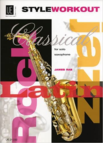 Style Workout For Solo Saxophone Ue21232