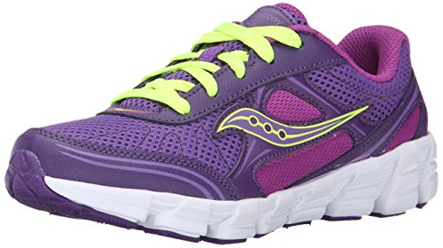 Saucony Girls Kotaro 2 Sneaker (Little Kid/Big Kid),Purple/Berry,11 M US Little Kid