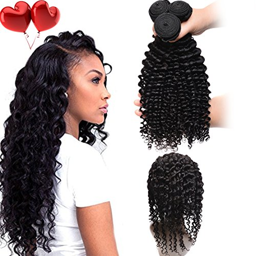 Laurianda Hair 7A 360 Lace Frontal With Bundle