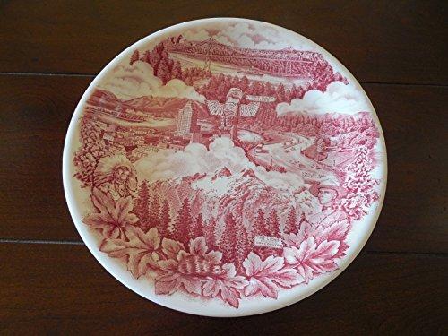 Vintage 1950's Johnson Bros Plate -- Hudson's Bay Company -- Vancouver Canada Souvenir Plate -- MINT