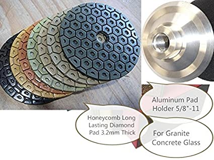 7 Diamond Resin Bond Polishing Pad 13 Pieces Granite Marble