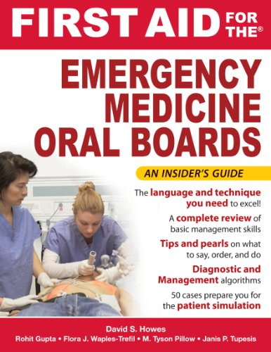First Aid for the Emergency Medicine Oral Boards (FIRST AID Specialty Boards) Pdf