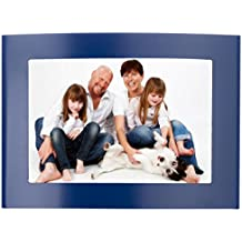 4x6 Metal Picture Frame for Tabletop Display, Curved Design, Set of 12- Available in (4) Colors