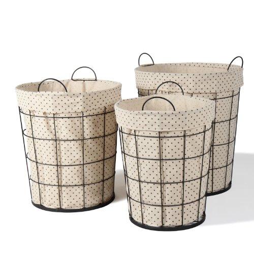 3 of Joveco Multi-purpose Tall Circular Baskets Home Decor