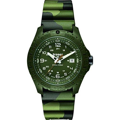 traser H3 Soldier Sapphire Watch - Green - Green - Rubber