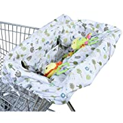 Ha&Ma Baby Shopping Cart Covers 2 in 1 Light Weight High Chiar Cover Universal Fit