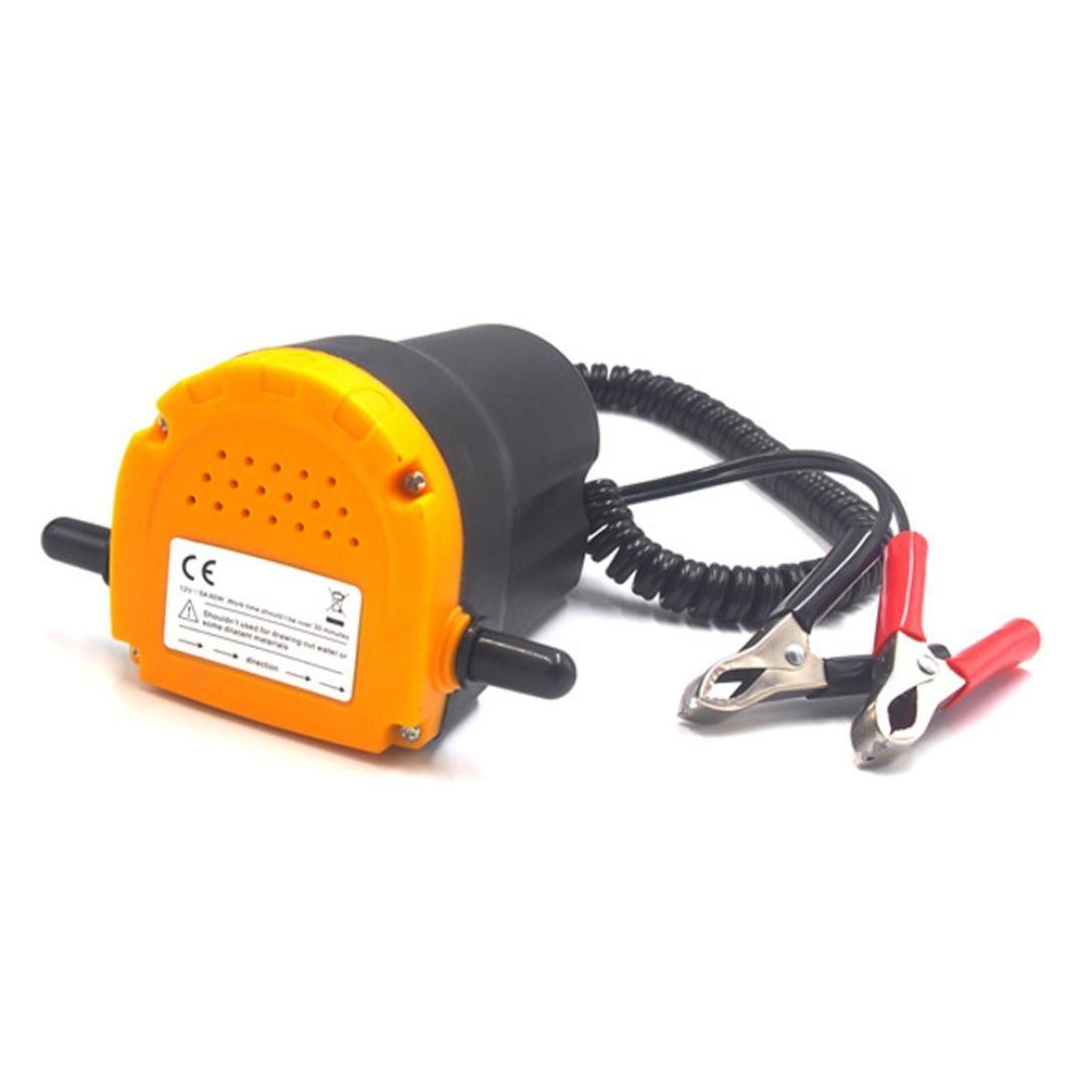 A set of 12v Pumping pump ,Allywit 12V 60W Electric Fluid Extractor Oil Diesel Transfer Pump Siphon Car Motorbike