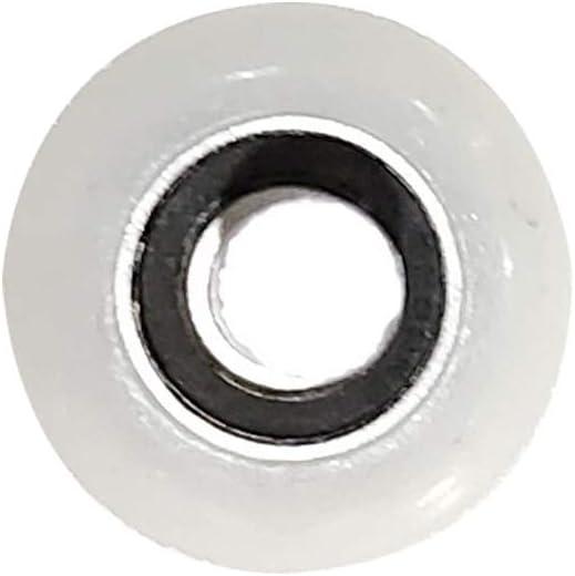 4 inch Stem FKG 2 Inch Nylon Garage Door Roller 6200ZZ Shield Bearing Set of 10