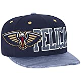 NBA New Orleans Pelicans Men's Surface Snapback Hat, One Size, Navy