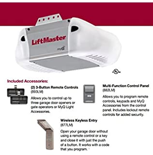 Liftmaster 3265 Premium Series 1 2 Hp Chain Drive W O Rail Assembly Amazon Com