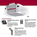 LiftMaster 8365-267 Premium Series 1/2 HP AC Chain Drive Garage Door Opener, Chain/Rails Sold Separately