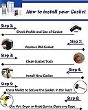 Passeal - True 810803 Compatible Door Gasket for