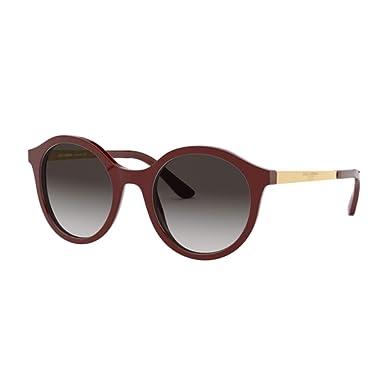 Dolce & Gabbana 0DG4358 Gafas de sol, Bordeaux, 50 para ...