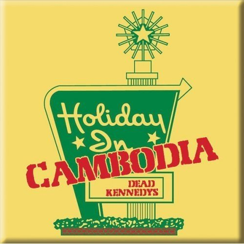 Price comparison product image Dead Kennedys Holiday Inn Cambodia Steel Metal Fridge Magnet Album Band