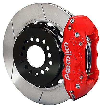 Pleasing Amazon Com New Wilwood Full Rear Disc Brake Kit 14 25 Rotors Red Wiring Digital Resources Bemuashebarightsorg