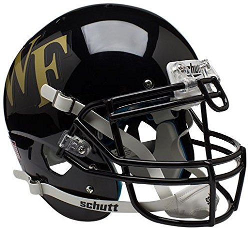 Schutt NCAA Wake Forest Demon Deacons Authentic XP Full Size Helmet ()