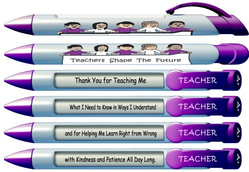 Greeting Pen Teachers Rotating 36402