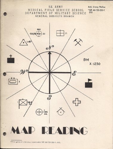 Map Reading (U.S. Army Medical Field Service School, Department of Military Science, General Subjects Branch)