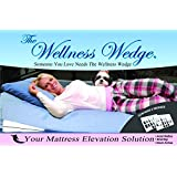"Your Mattress Elevation Solution From 3 To 6 Inches of Elevation ""Bed Wedge 2 Pack"""