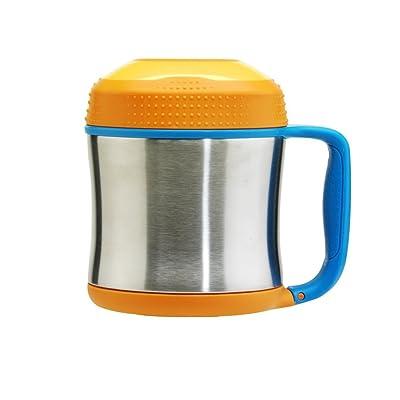 Contigo Scout Jar Gourde mixte enfant Steel/Orange 300 ml