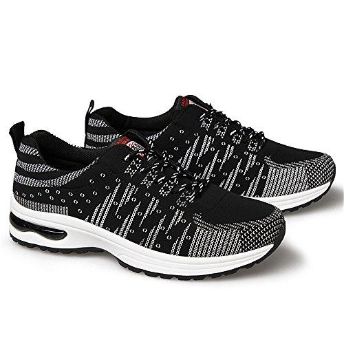 Calzado Running Hombre Zapatillas Deportivas Aire Libre y Deportes Numero 39-44 Negro