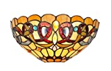 Chloe Lighting CH33353VR12-WS1 Tiffany Style Victorian 1-Light Wall Sconce - 12-Inch - Multicolored