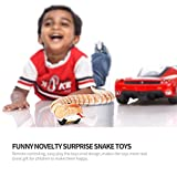 TOWERPRO Novelty Surprise Practical Jokes RC Machine Remote Control Snake And Egg Radio Control Toys 2 Colors for Children Gift (Yellow)