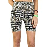 Booties, Women's Breathable Yoga Exercise Swim Party Shorts :: Inca Cat