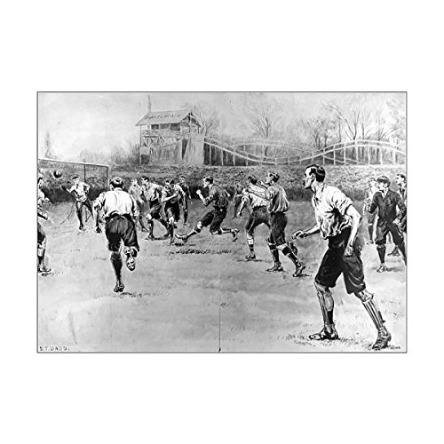 Prints Prints Prints A1 Poster of Nottingham Forest vs. Derby County F.A. Cup Final, 1898 (4377428)