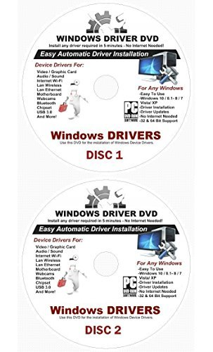 Lenovo Wireless Driver - 2018 Automatic Driver Recovery [Disc 1 & Disc 2] Restore Windows 10, 8.1, 7, Vista and XP. Supports Dell HP Gateway Toshiba Gateway Acer Asus Samsung MSI Lenovo Sony IBM Compaq eMachines ⭐️⭐️⭐️⭐️⭐️
