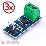 AZDelivery ACS712corriente Sensor Rango de medición Range Current Sensor para Arduino bascom 3x ACS712 30A
