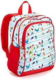 """Amazon Exclusive Kids Backpack, Birds (Compatible with Kids Fire 7""""-8"""" Tablet and Kindle Kid"""
