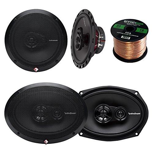 (Car Speaker Package of 2x Rockford Fosgate R165X3 Prime 6.5
