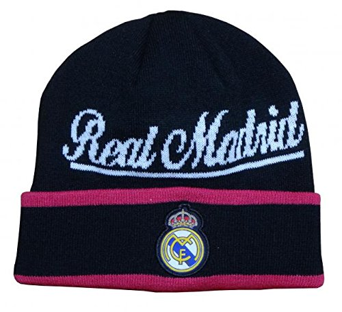 licenced authe Real Madrid Beanie New 2014-2015 Official Cap Hat Script Style