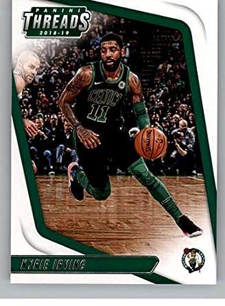 c0c83ab693ab1 Amazon.com: 2018-19 Threads Basketball #16 Kyrie Irving Boston ...