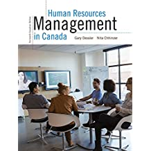 Human Resources Management in Canada, Thirteenth Canadian Edition,