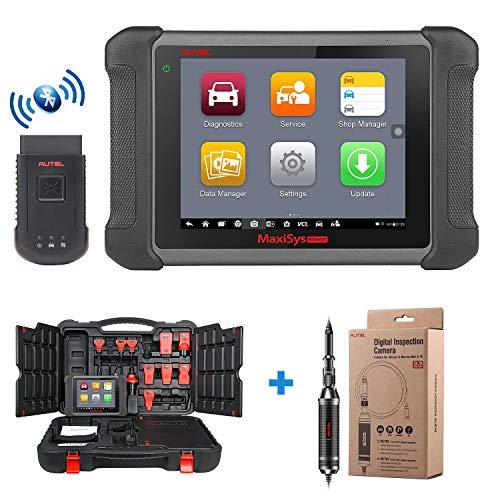 Autel Maxisys MS906BT Bluetooth Automotive Diagnostic Tool with OE-level Diagnostics, ECU Coding, Oil Reset Service, TPMS, EPB, ABS/SRS, SAS, DPF, Bi-Directional Control, Upgraded Version of MS906