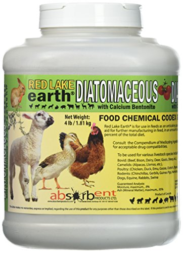 Absorbent Products Inc. Red Lake Diatomaceous Earth with Calcium Bentonite