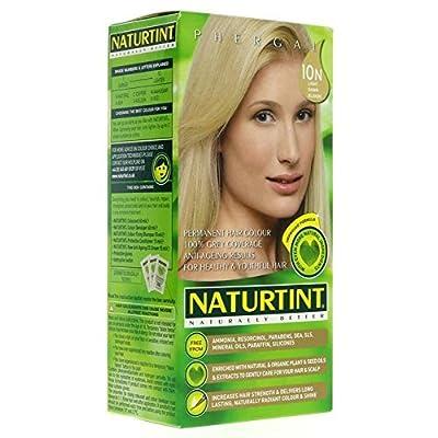 (2 Pack) - Naturtint - Hair Dye - 10N Light Dawn Blonde   135ml   2 PACK BUNDLE