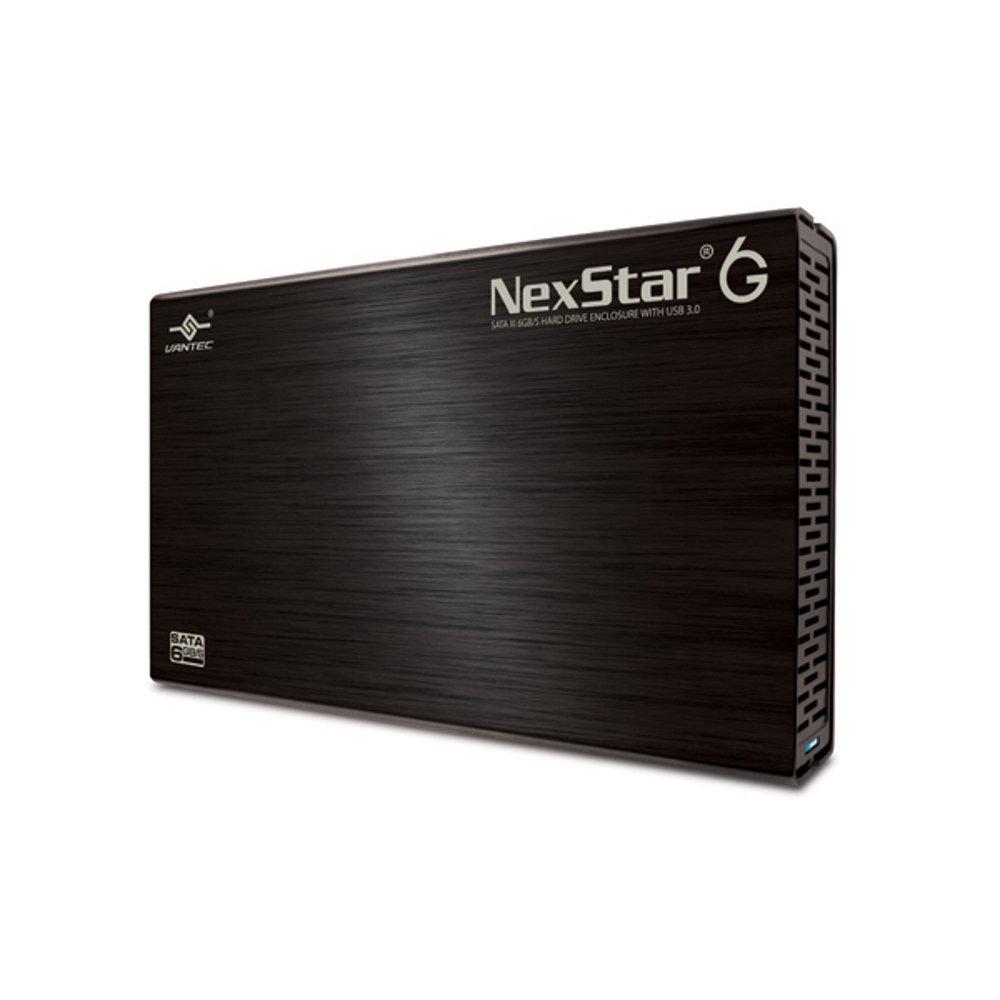 Vantec 3.5-Inch SATA 6GB/s to USB 3.0 HDD Enclosure, Black (NST-366S3-BK) by Vantec