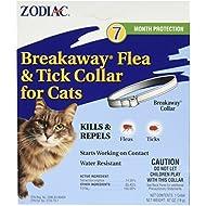 "(3 Pack) Zodiac Breakaway Flea and Tick Collar for Cats, 13"""