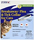 (3 Pack) Zodiac Breakaway Flea and Tick Collar for Cats, 13''