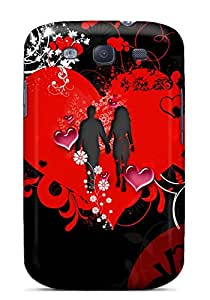JoyRoom Galaxy S3 Well-designed Hard Case Cover Emo Valentine Protector